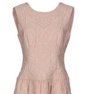 BCBG Short Off pink dress Small NWOT